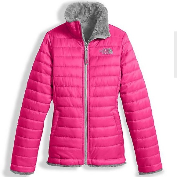 40da0d70481 North Face Girls Reversible Quilted Jacket